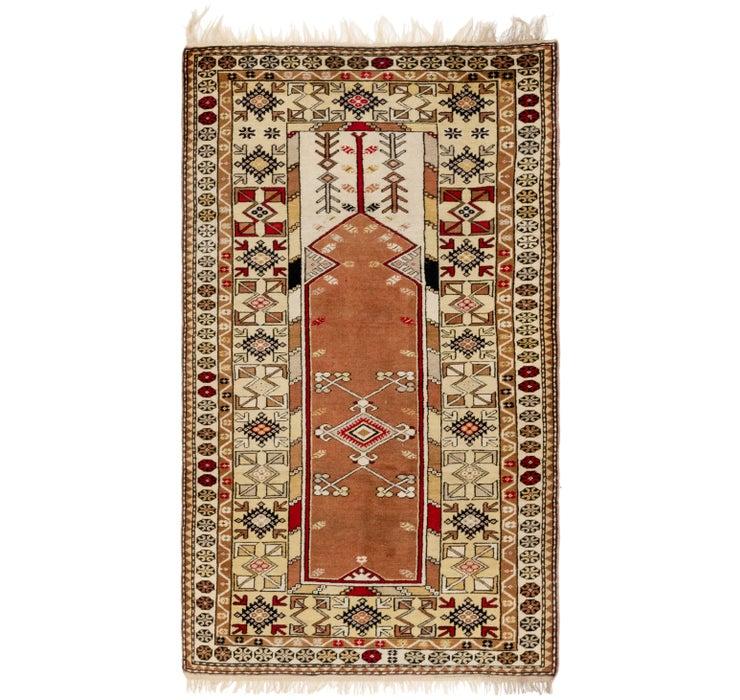 3' 9 x 6' 6 Kars Oriental Rug