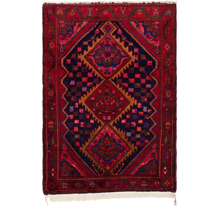 122cm x 188cm Hamedan Persian Rug