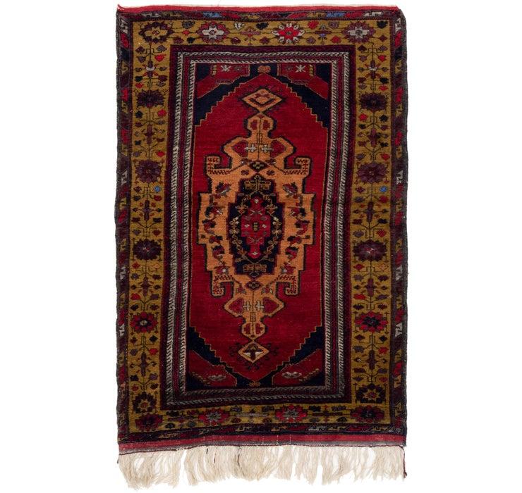 3' 8 x 6' Anatolian Oriental Rug