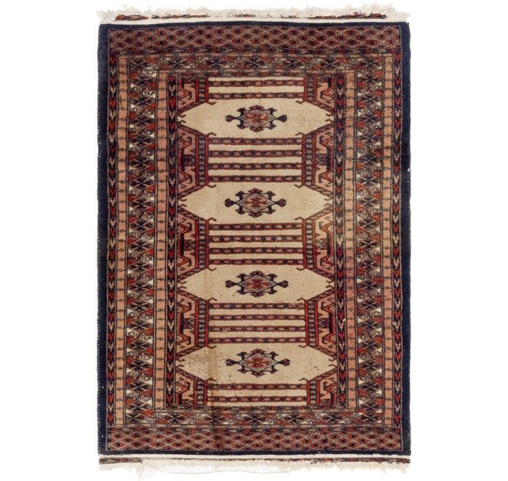 2' 8 x 3' 10 Bokhara Oriental Rug