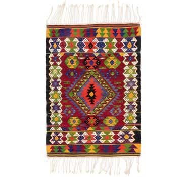 Image of 3' 8 x 5' 6 Moroccan Rug
