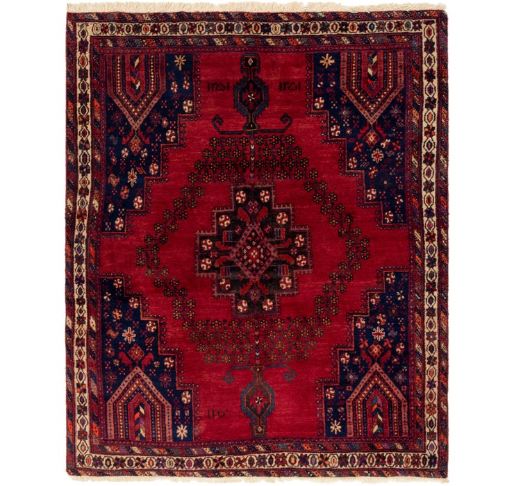 160cm x 208cm Ghashghaei Persian Rug