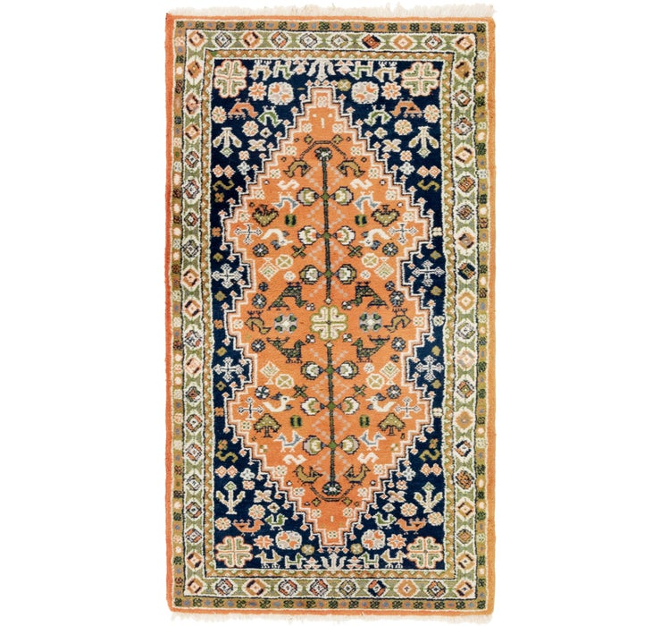 90cm x 178cm Yalameh Persian Rug