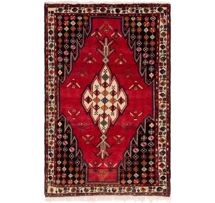 Image of 137cm x 205cm Mazlaghan Persian Rug