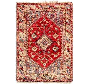 3' 9 x 5' 5 Anatolian Oriental Rug main image