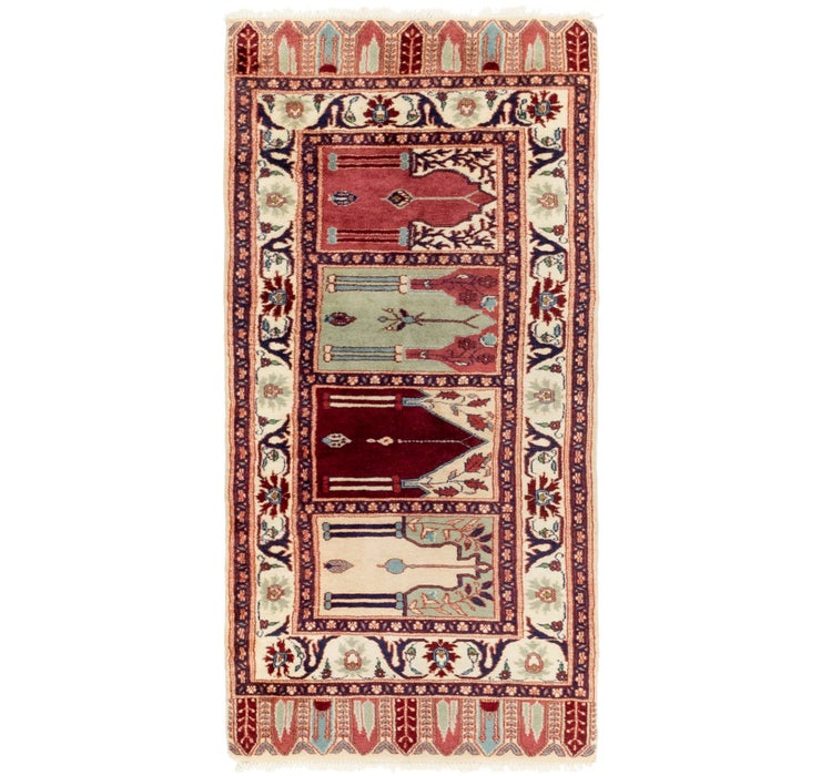 80cm x 165cm Jaipur Agra Oriental Rug