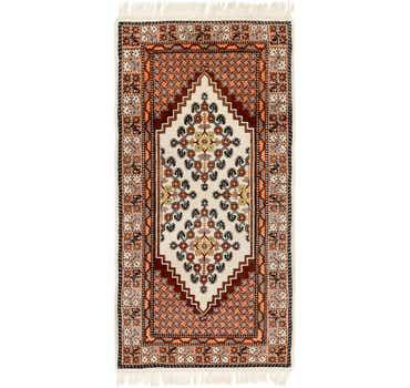 Image of 3' 3 x 6' 8 Moroccan Runner Rug