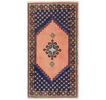 Image of 3' 2 x 6' 3 Moroccan Runner Rug