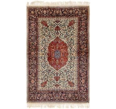 4' 8 x 7' 8 Kashmir Oriental Rug main image