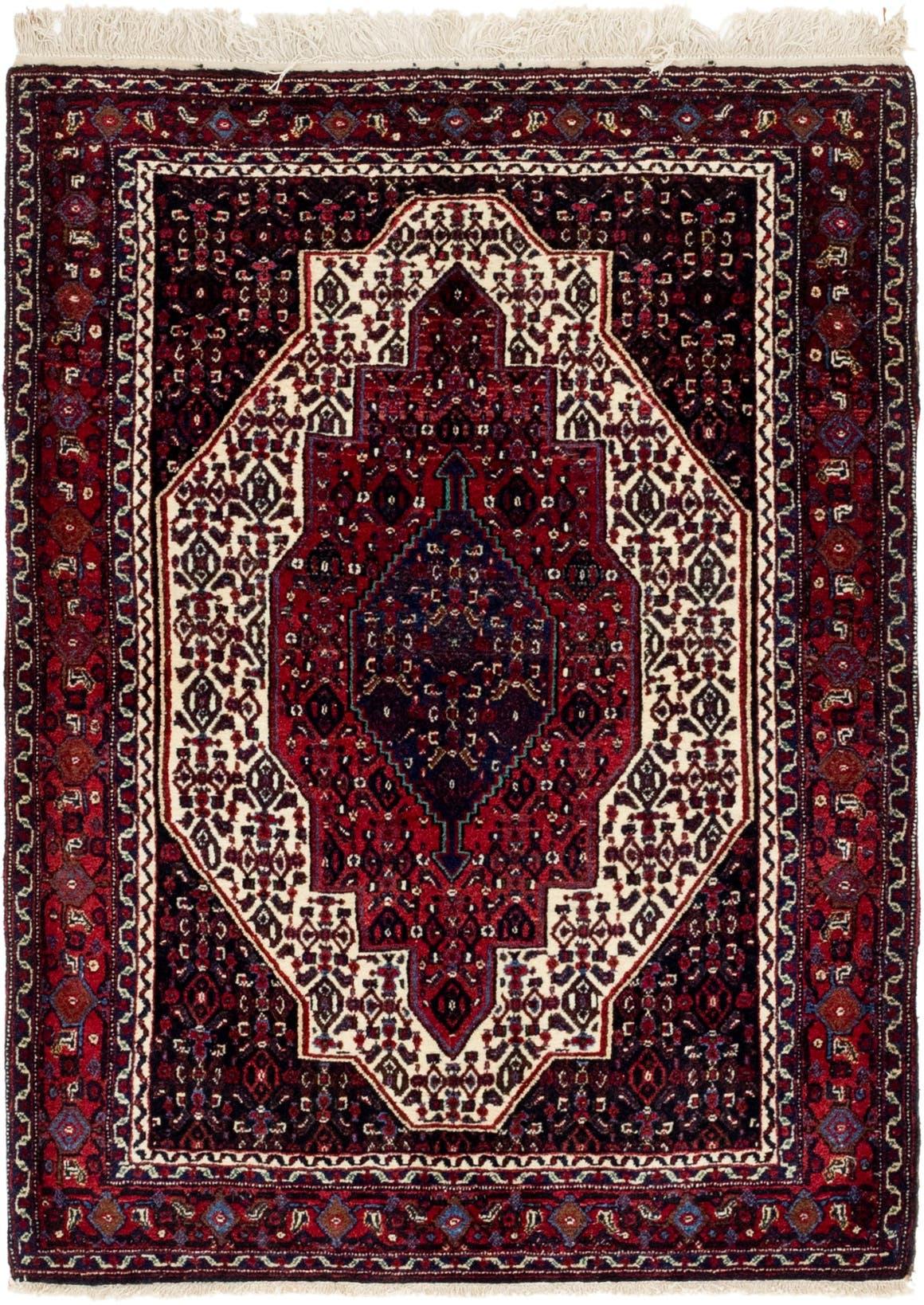 4' x 5' 2 Senneh Persian Rug main image