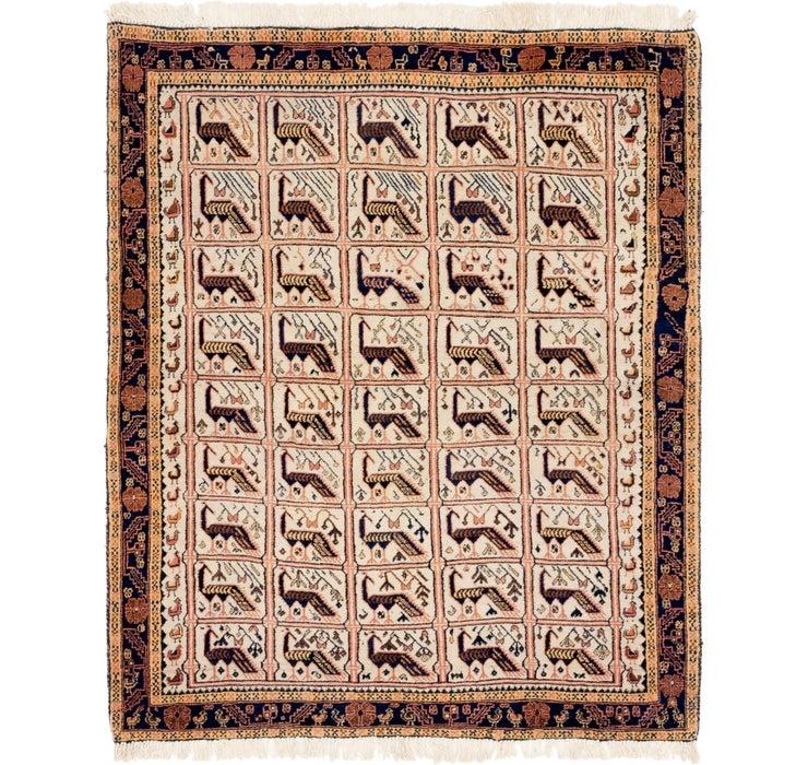 140cm x 170cm Shiraz Persian Rug