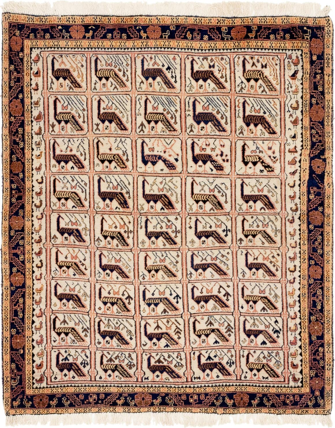 4' 7 x 5' 7 Shiraz Persian Rug main image