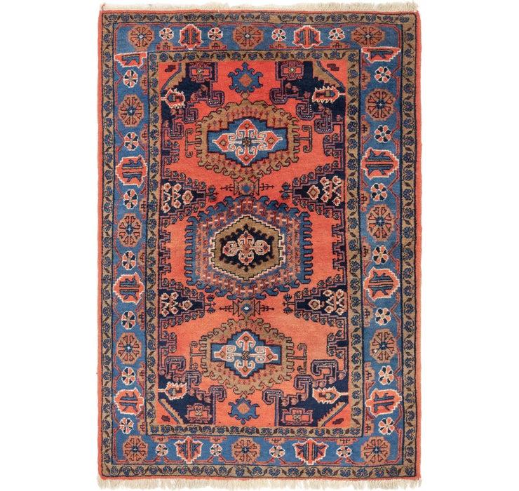 5' 2 x 7' 10 Viss Persian Rug