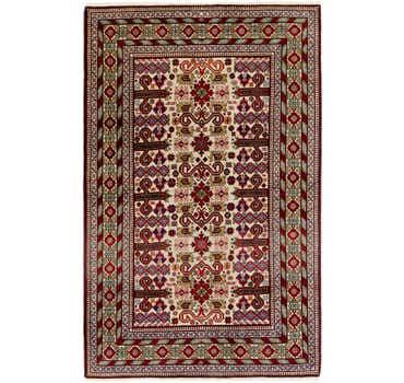 4' 4 x 6' 10 Shirvan Persian Rug