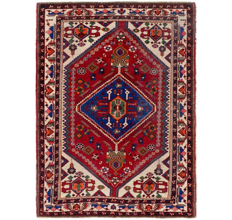 Image of 147cm x 203cm Maymeh Persian Rug