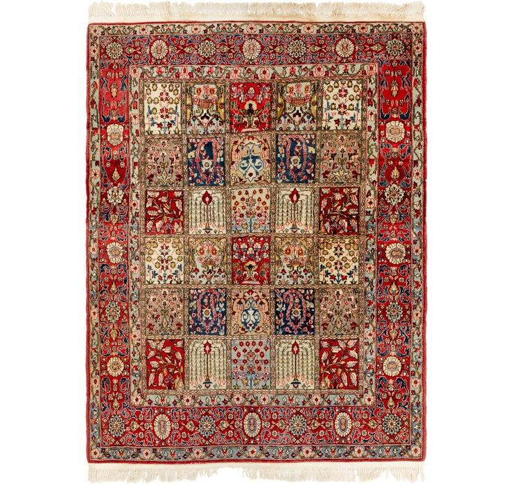 142cm x 200cm Qom Persian Rug