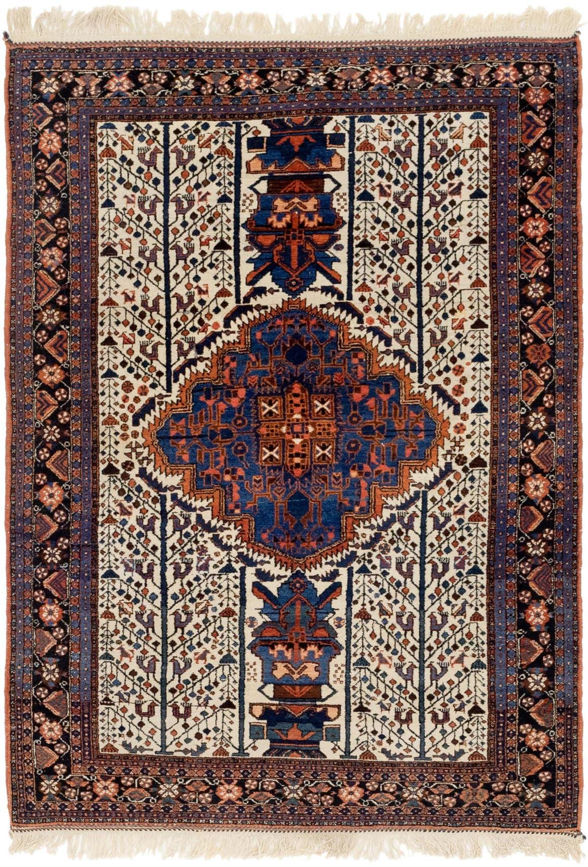 4' x 5' 10 Varamin Persian Rug main image