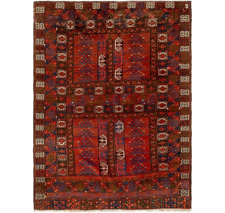 5' x 6' 7 Shiraz Persian Rug