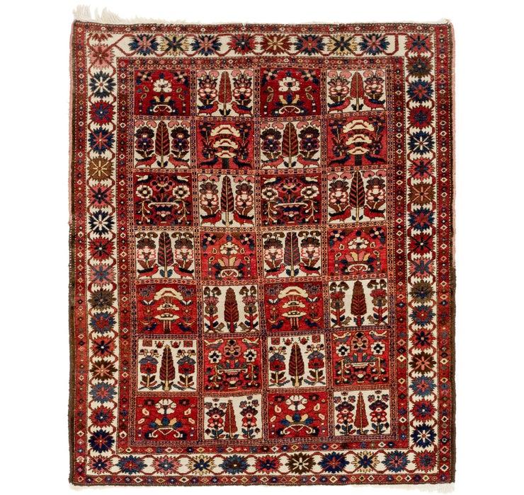 160cm x 203cm Bakhtiar Persian Rug