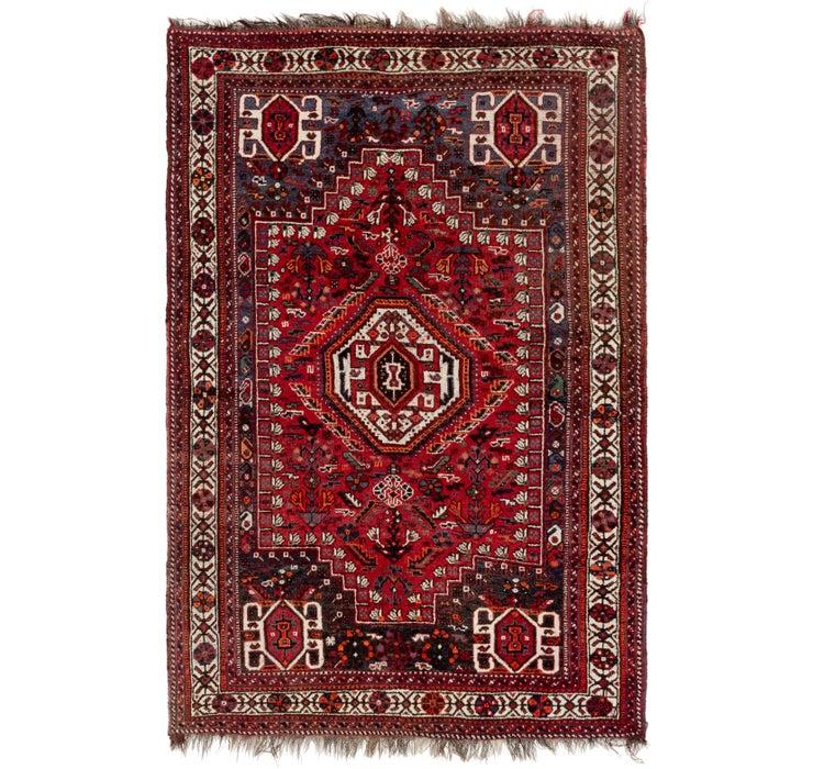 168cm x 260cm Ghashghaei Persian Rug