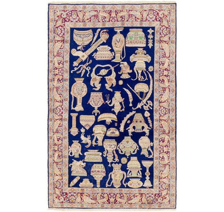 5' x 8' Kerman Persian Rug