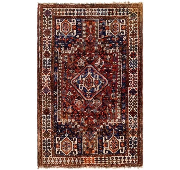 165cm x 260cm Ghashghaei Persian Rug
