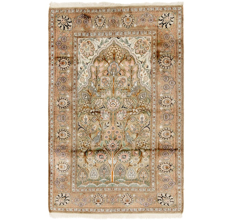 122cm x 195cm Kashmir Oriental Rug