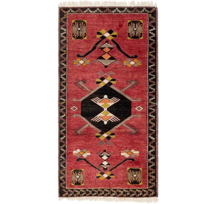 3' 3 x 6' 5 Anatolian Runner Rug