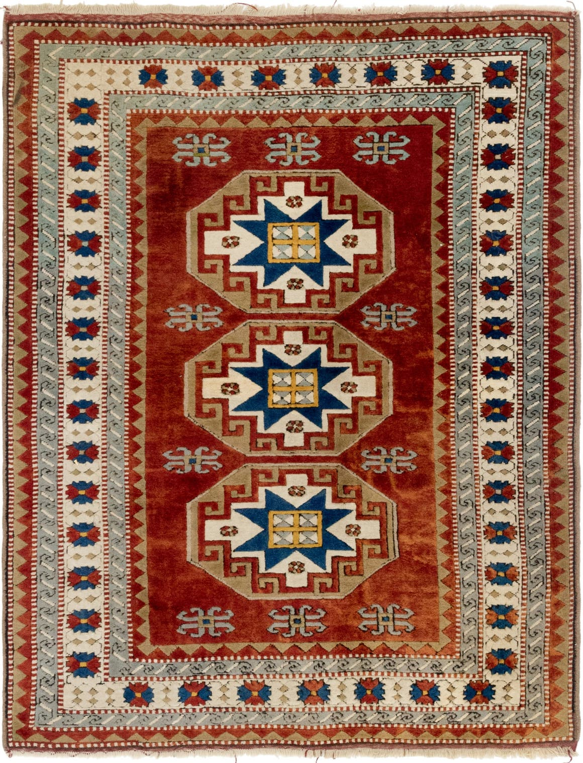 Kars Oriental Square Rug