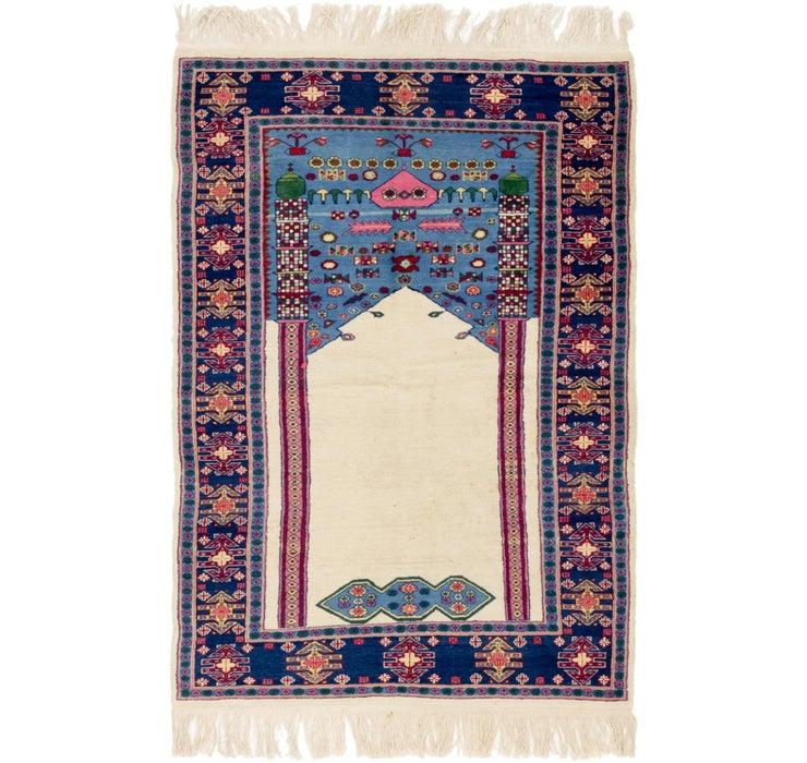 122cm x 178cm Lahour Oriental Rug