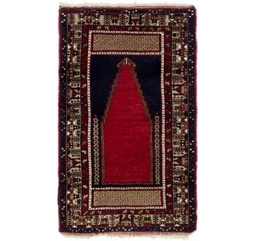 3' 10 x 6' 2 Anatolian Oriental Rug main image