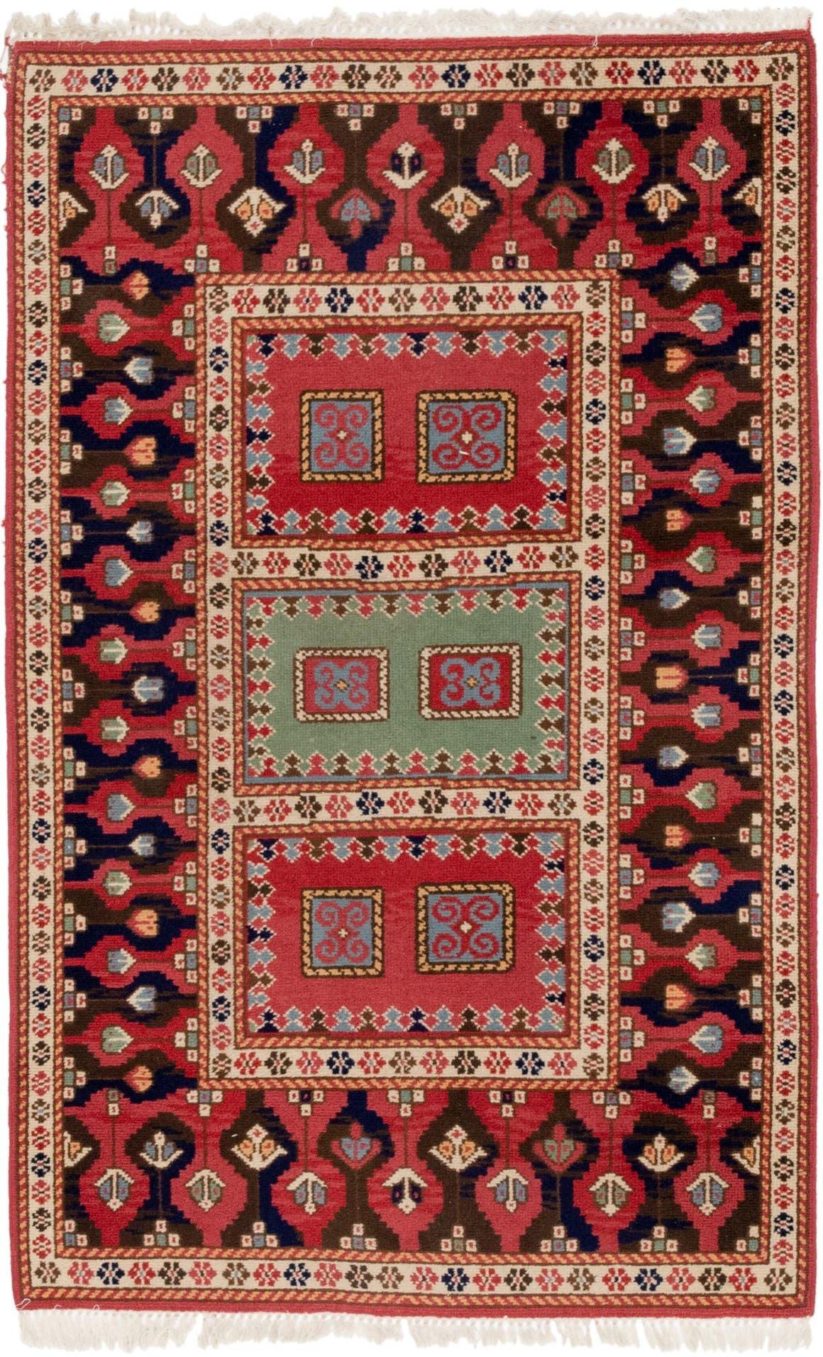 3' 10 x 6' 4 Anatolian Oriental Rug main image