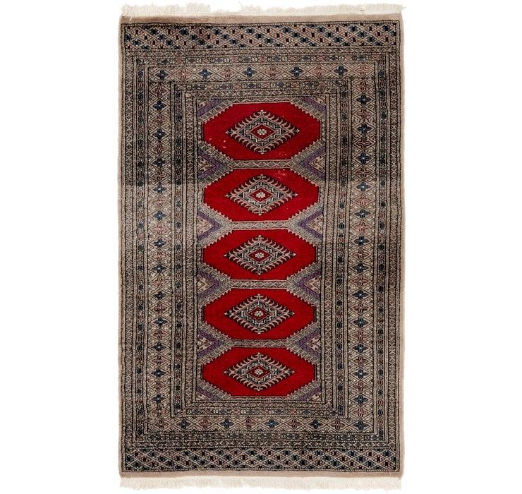 97cm x 163cm Bokhara Oriental Rug