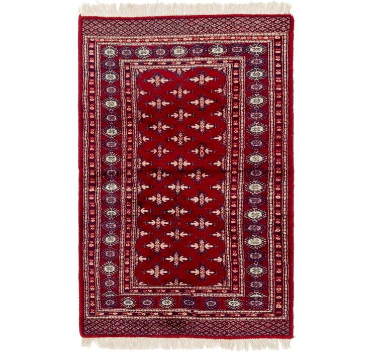 102cm x 160cm Bokhara Oriental Rug