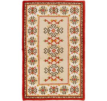 Image of  3' 3 x 5' 2 Moroccan Rug