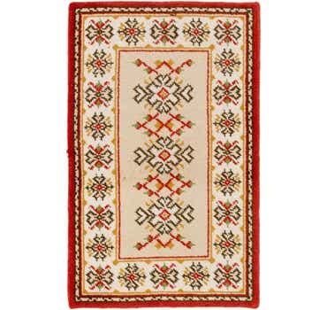 Image of 3' 3 x 5' 2 Moroccan Rug