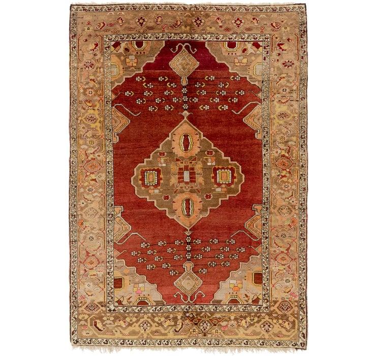 5' x 7' Anatolian Oriental Rug