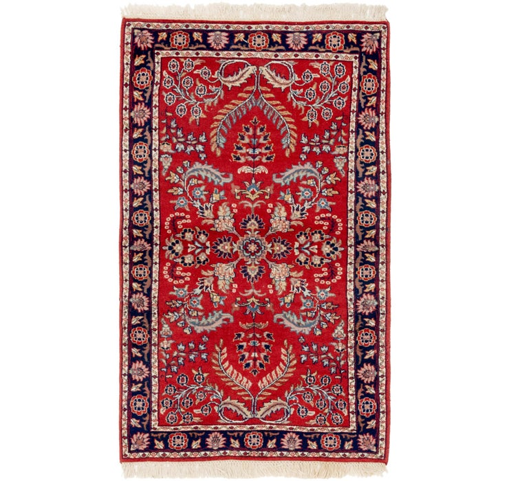 3' 2 x 5' 6 Sarough Rug
