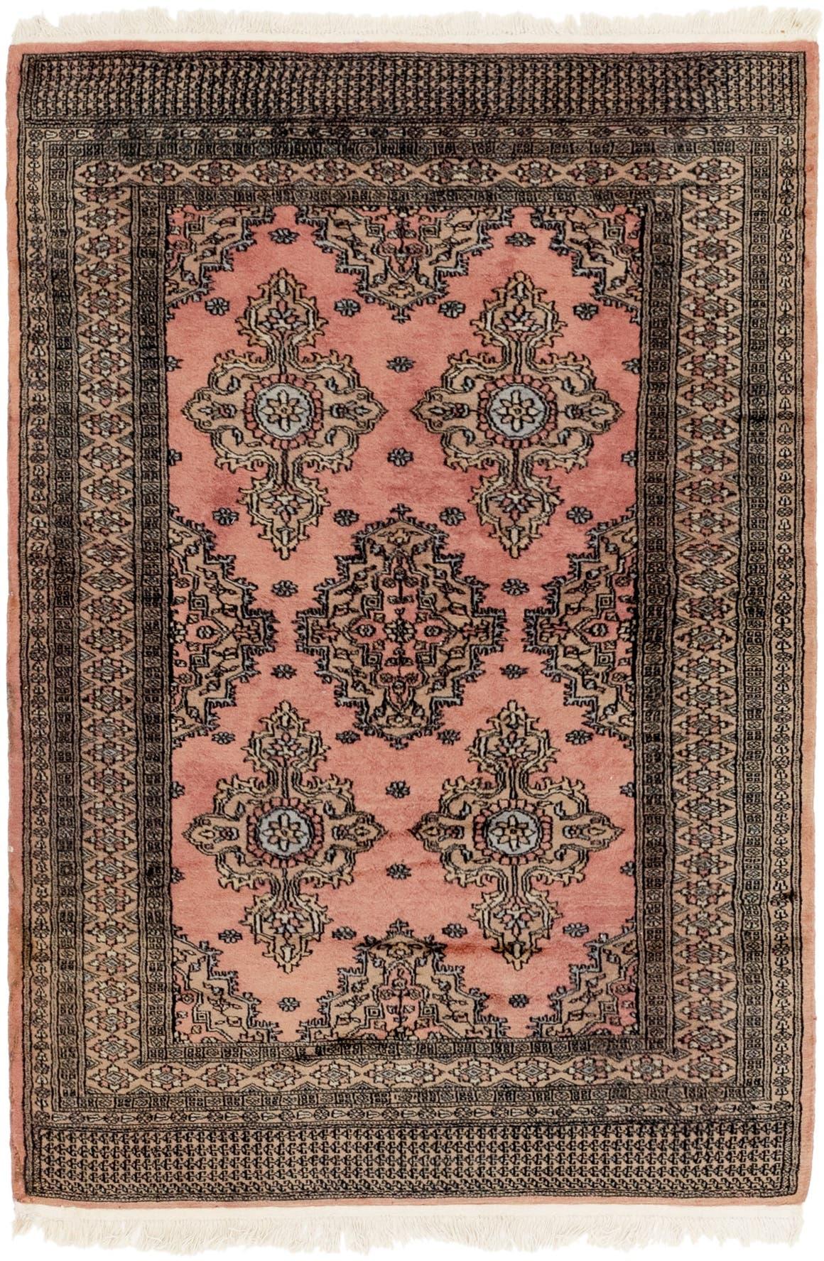 4' x 6' 3 Bokhara Oriental Rug main image