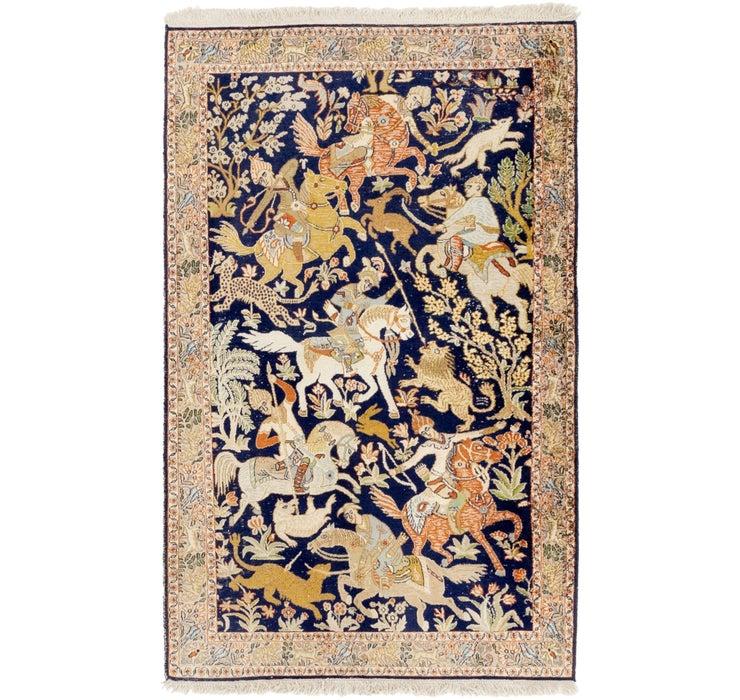 97cm x 163cm Kashmir Oriental Rug