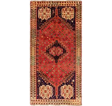 4' x 8' 2 Ghashghaei Persian Runn...