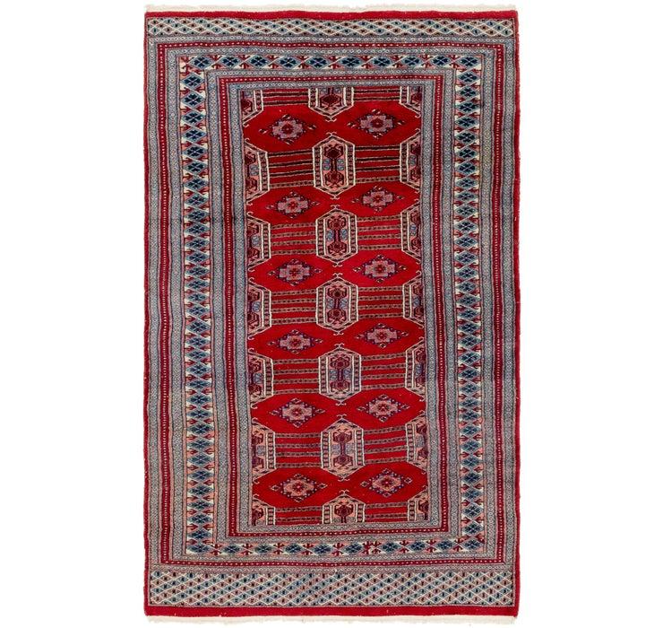 4' x 6' 10 Bokhara Oriental Rug