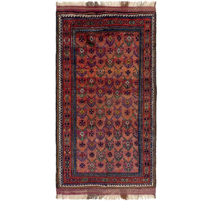 5' x 9' 8 Shiraz Persian Rug