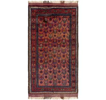 5' x 9' 8 Shiraz Persian Rug main image