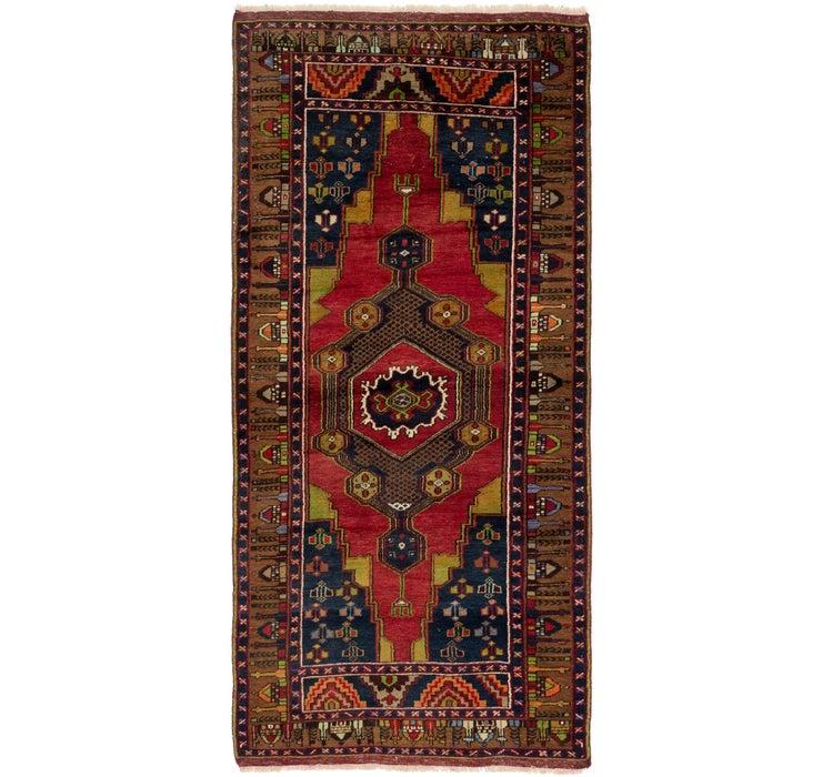 4' x 8' 10 Anatolian Rug