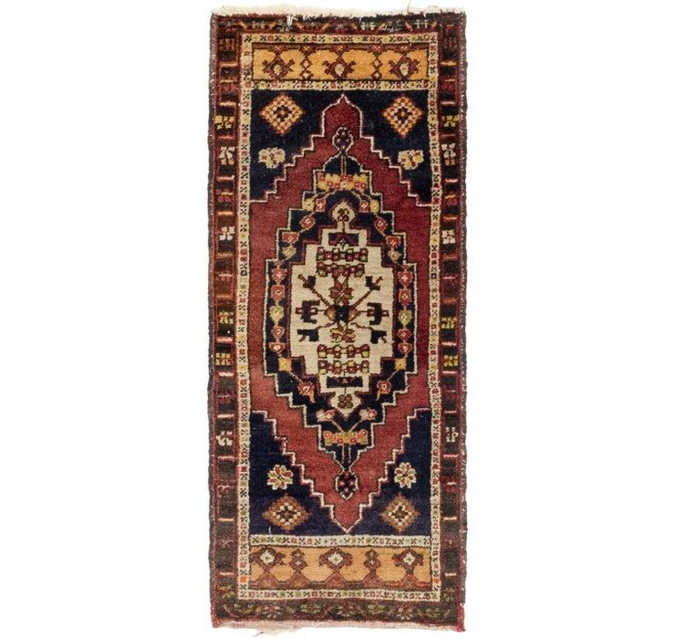 1' 8 x 4' Anatolian Runner Rug