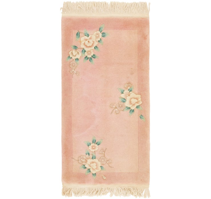 70cm x 137cm Antique Finish Rug