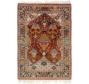 4' 2 x 6' 2 Lahour Oriental Rug