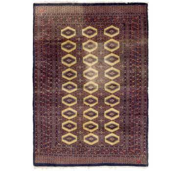 Image of  4' 3 x 6' 2 Bokhara Oriental Rug