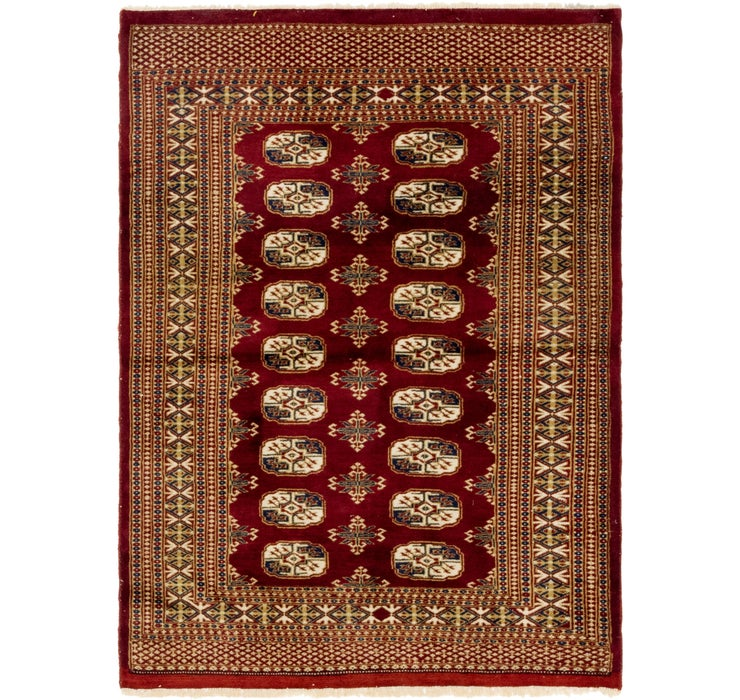 4' x 5' 7 Bokhara Oriental Rug